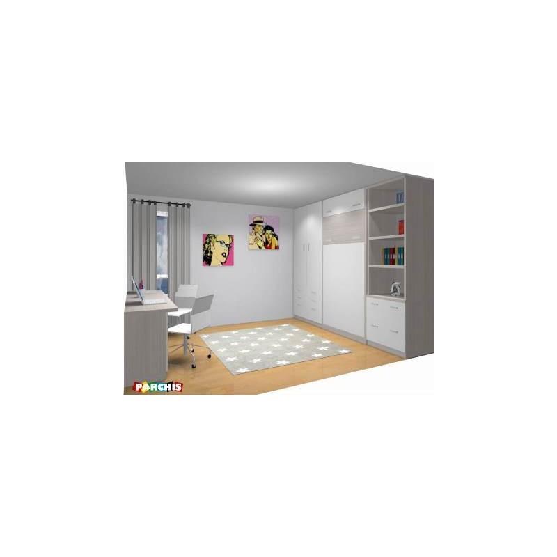 Camas abatibles verticales blancas camas abatibles - Literas blancas ...